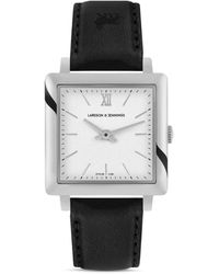 Larsson & Jennings - Ljxii Norse Leather Strap Watch - Lyst