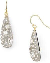 Alexis Bittar - Lucite Crystal Dust Dewdrop Earrings - Lyst