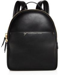 Giuseppe Zanotti Leather Backpack - Black