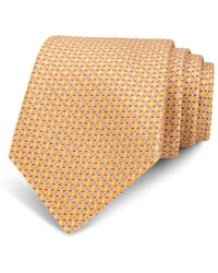 Bloomingdale's - Neat Linked-circle Silk Classic Tie - Lyst