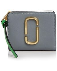 Marc Jacobs - Snapshot Mini Leather Wallet - Lyst