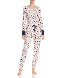Jane & Bleecker New York Jogger Pajama Set - Multicolor