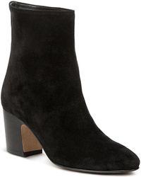 Vince - Women's Dryden Suede High Block Heel Booties - Lyst
