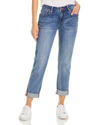 Jag Jeans Carter Girlfriend Jeans In Mid Vintage - Blue