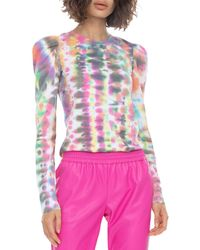 Generation Love Josephine Tie Dyed Top - Pink