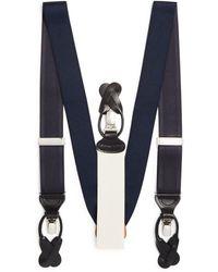 Trafalgar Men's Classic Convertible Stretch Brace - Blue