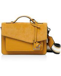 Botkier - Cobble Hill Medium Leather & Suede Crossbody - Lyst