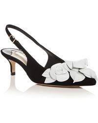 Sophia Webster Women's Jumbo Lilico 50 Slingback Kitten - Heel Pumps - Black
