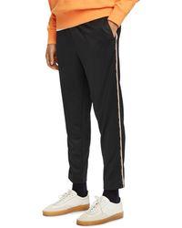 Scotch & Soda Taped Slim Fit Track Trousers - Black