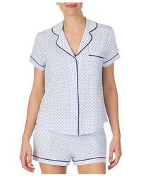 Kate Spade Short Pyjama Set - Blue
