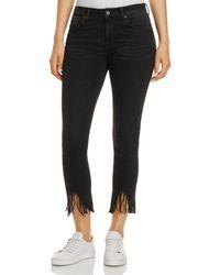 Mavi - Tess Vintage Skinny Jeans In Smoke Fringe - Lyst