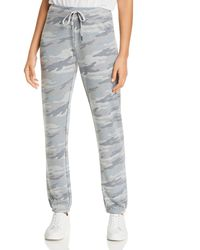 Marc New York Performance Camo - Print French Terry Jogger Pants - Gray