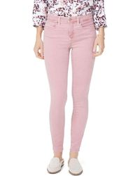 NYDJ - Petites Ami Skinny Jeans In Wood Rose - Lyst