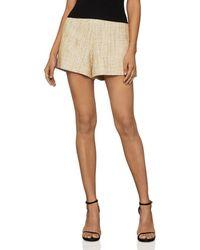 BCBGMAXAZRIA Tweed Shorts - Natural