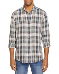 Bloomingdale's The Store At Bloomingdale's Woven Linen Shirt - Multicolour