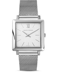 Larsson & Jennings Ljxii Norse Milanese 34mm Satin-white - Metallic