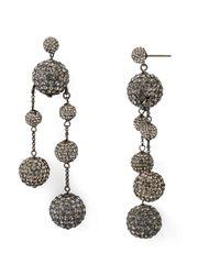 Kate Spade - Asymmetrical Drop Earrings - Lyst