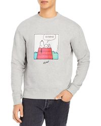 Soulland Snoopy House Sweatshirt - Grey
