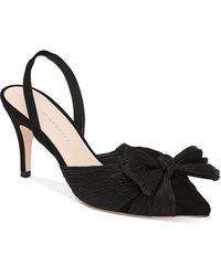 Loeffler Randall Women's Sylvana Slingback Court Shoes - Black