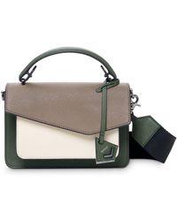 Botkier Cobble Hill Medium Leather & Suede Crossbody - Green