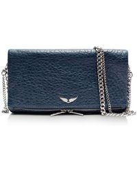 Zadig & Voltaire - Rock Bubble Leather Crossbody - Lyst
