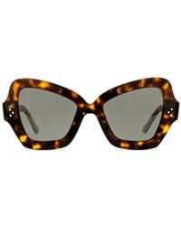dc9632b38bf Lyst - Céline Tortoiseshell Radical Glasses in Brown