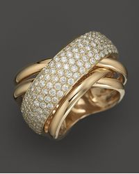 Bloomingdale's - Pavé Diamond Ring In 14k Yellow Gold, 2.25 Ct. T.w. - Lyst