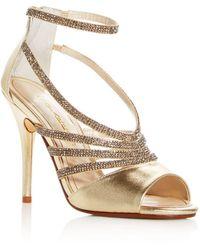Caparros - Women's Judith Embellished Ankle Strap High-heel Sandals - Lyst