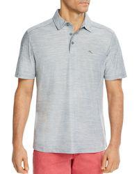 Tommy Bahama Tech Polo Shirt - Grey