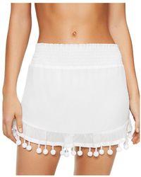 Ramy Brook Stevie Skirt Swim Cover - Up - White