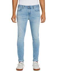 Scotch & Soda Skim Slim Fit Jeans In Cool Pool - Blue