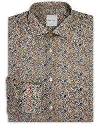 Paul Smith - Italian Liberty Print Slim Fit Dress Shirt - Lyst
