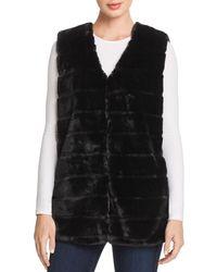 Echo - Faux Fur Vest - Lyst
