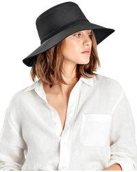 Helen Kaminski Francine Lightweight Sun Hat - Black
