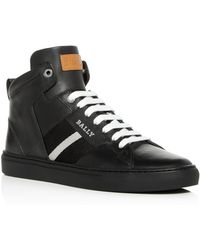 Bally - Men's Hedern Leather High-top Sneakers - Lyst