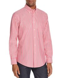 Brooks Brothers - Striped Classic Fit Button-down Shirt - Lyst