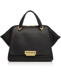 Zac Zac Posen Eartha Iconic Jumbo Double Handle Satchel - Black