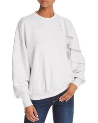 The Fifth Label Ultraviolet Ruffled Sweatshirt - Gray