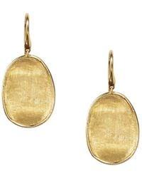 Marco Bicego 18k Yellow Gold Lunaria Drop Earrings - Metallic