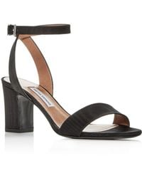 Tabitha Simmons - Women's Leticia Ankle Strap Block-heel Sandals - Lyst