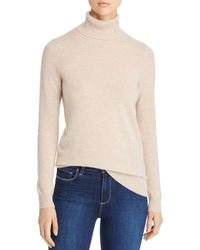 C By Bloomingdale's - Cashmere Turtleneck Sweater - Lyst