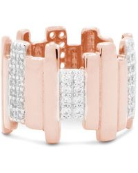 Freida Rothman - Radiance Staggered Band Ring - Lyst
