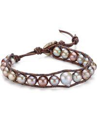 Chan Luu - Cultured Freshwater Pearl Bracelet - Lyst