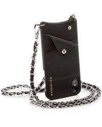 Bandolier - Lucy Leather Iphone X Crossbody - Lyst