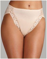 Wacoal - Bodysuede Lace Leg High-cut Briefs - Lyst
