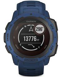 Garmin Instinct Solar Smart Watch - Blue