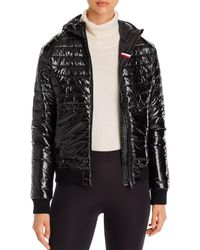 Rossignol - Cyrus Hooded Shine Puffer Coat - Lyst