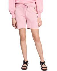 10 Crosby Derek Lam Indya Cotton Shorts - Pink