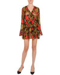 The Kooples - Jungle Flowers Dress - Lyst