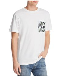 Wesc - Maxwell Hawaiian Pocket Tee - Lyst